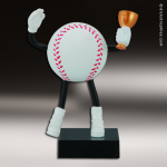 Resin Soft Sports Buddy Series Baseball Trophy Award Baseball Trophies