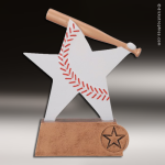 Kids Resin Color Sports Star Series Baseball Trophies Awards Baseball Trophies