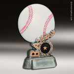 Resin Swirl Series Baseball Trophy Award Baseball Trophies