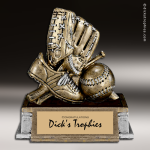 Resin Participation Theme Series Baseball Trophy Award Baseball Trophies