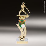 Trophy Builder - Baseball Riser - Example 1 Baseball Trophy Awards