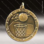 Medallion Shooting Star Series Basketball Medal Basketball Medals