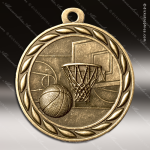 Medallion Sculpted Series Basketball Medal Basketball Medals