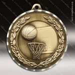 Medallion Diamond Edge Series Basketball Medal Basketball Medals