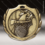 Medallion Burst Series Basketball Medal Basketball Medals