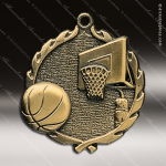Medallion Wreath Series Basketball Medal Basketball Medals