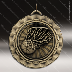 Medallion 360 Spin Series Basketball Medal Basketball Medals