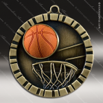 Medallion 3D IM Series Basketball Medal Basketball Medals