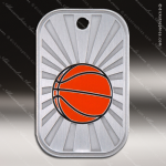 Medallion GI Series Dog Tag Basketball Medal Basketball Medals