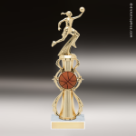 Trophy Builder - Basketball Riser - Example 3 Basketball Trophies