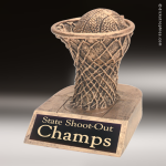 Kids Resin Gold Series Basketball Trophies Awards Basketball Trophies