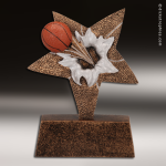 Kids Resin Star Burster Series Basketball Trophy Awards Basketball Trophies