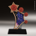 Kids Resin Sports in Motion Series Basketball Trophy Awards Basketball Trophies