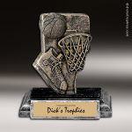 Resin Activity Series Basketball Trophy Award Basketball Trophies