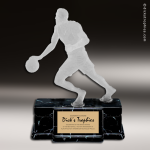 Resin Frosted Action Series Basketball Male Trophy Award Basketball Trophies