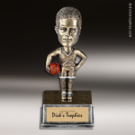 Resin Antique Bobble Head Series Basketball Male Trophy Award Basketball Trophies
