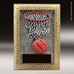 Resin Plaque Series Basketball Trophy Award Basketball Trophies