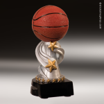 Resin Encore Series Basketball Trophy Award Basketball Trophies