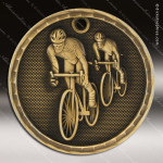 Medallion 3D Series Bicycling Medal Bike Motorcycle Medals
