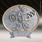 Kids Resin Legend Series Oval Racing Trophy Awards - Motocross Bike/Motorcycle Trophy Awards