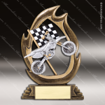 Kids Resin Flame Series Motorcycle Trophy Awards Bike/Motorcycle Trophy Awards