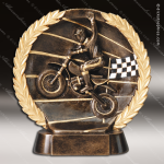 Kids Resin High-Relief Series Motorcross Trophy Awards Bike/Motorcycle Trophy Awards