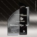 Acrylic Black Accented Layered Trophy Award Black Accented Acylic Awards