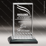 Acrylic Black Accented Mirage Impress Trophy Award Black Accented Acylic Awards