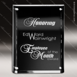 Acrylic Black Accented Magnetic Award Black Accented Acylic Awards