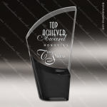 Acrylic Black Accented Lunar Trophy Award Black Accented Acylic Awards