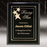 Engraved Black Piano Finish Plaque Black Star Constellation Wall Placard Aw Black Piano Finish Plaques