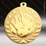 Medallion Starbrite Series Bowling Medal Bowling Medals