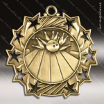 Medallion Ten Star Series Bowling Medal Bowling Medals