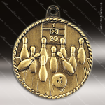 Medallion High Relief Series Bowling Medal Bowling Medals