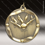 Medallion Wreath Cast Series Bowling Medal Bowling Medals