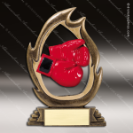 Kids Resin Flame Series Boxing Trophy Awards Boxing Trophy Awards