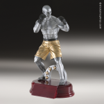 Kids Resin Premier Series Boxing MMA Trophy Awards Boxing Trophy Awards