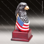 Kids Premium Resin Hand Painted Color American Eagle Trophy Award Boy Scouts Trophy Awards