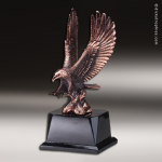 Premium Resin Bronze American Eagle Landing Trophy Award Bronze Eagle Trophy Awards