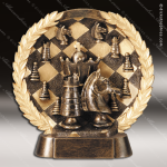 Kids Resin High-Relief Series Chess Trophy Awards Card Game Trophy Awards