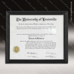 Corporate Economy Plaque Black Plastic Certificate Frame Wall Placard Award Certificate Plaque Collection