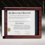 Engraved Economy Plaque Insert Photo Certificate Slide In Holder Wall Placa Certificate Plaques