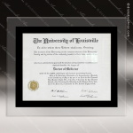Engraved Black Plaque Clear Acrylic Certificate Holder Wall Placard Award Certificate Plaques