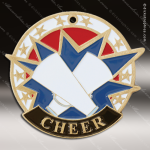 Medallion USA Sport Series Cheerleading Medal Cheerleading Medals