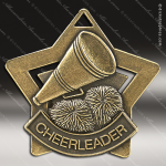 Medallion Star Series Cheerleading Medal Star Cheerleading Medals