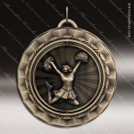Medallion 360 Spin Series Cheerleading Medal Cheerleading Medals