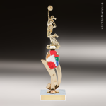 Trophy Builder - Cheer Riser - Example 1 Cheerleading Trophy Awards