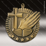 Medallion Five Star Series Religious Medal Church Religious Medals