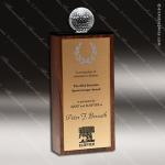 Wooden Rectangle Blank Wood Trophy Award CIP Crystal Trophy Awards