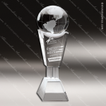 Crystal  Best Globe Trophy Award CIP Crystal Trophy Awards